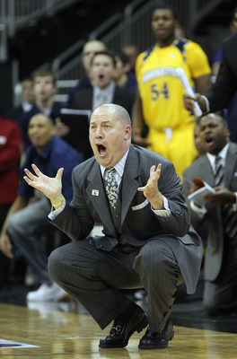 Marquette head basketball coach, Buzz Williams beat Syracuse for the first time since the Golden Eagles joined the Big East.