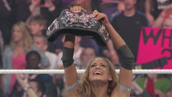 Eve is now a two-time Divas Champion