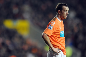 BLACKPOOL, ENGLAND - JANUARY 22:  Charlie Adam of Blackpool looks on during the Barclays Premier League match between Blackpool and Sunderland at Bloomfield Road on January 22, 2011 in Blackpool, England.  (Photo by Chris Brunskill/Getty Images)