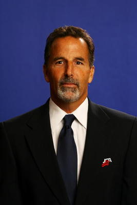 WOODRIDGE, IL - AUGUST 19:  Assistant Coach John Tortorella  poses for a portrait during the USA Olympic Men's Ice Hockey Orientation Camp on August 19, 2009 at Seven Bridges Ice Arena in Woodridge, Illinois.  (Photo by Jamie Squire/Getty Images)