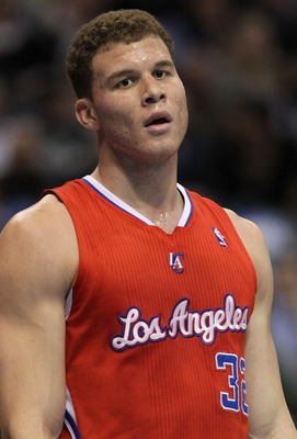 DALLAS, TX - JANUARY 25:  Forward Blake Griffin #32 of the Los Angeles Clippers during play against the Dallas Mavericks at American Airlines Center on January 25, 2011 in Dallas, Texas.  NOTE TO USER: User expressly acknowledges and agrees that, by downl