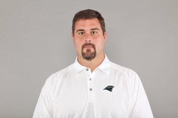 CHARLOTTE, NC - 2009:  Jeff Davidson of the Carolina Panthers poses for his 2009 NFL headshot at photo day in Charlotte, North Carolina. (Photo by NFL Photos)