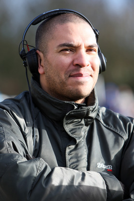 CHASETOWN, UNITED KINGDOM - JANUARY 05:  Former footballer Stan Collymore looks on prior to the FA Cup sponsored by E.ON third round match between Chasetown FC and Cardiff City at The Scholars Ground on January 5, 2008 in Chasetown, England.  (Photo by Ma