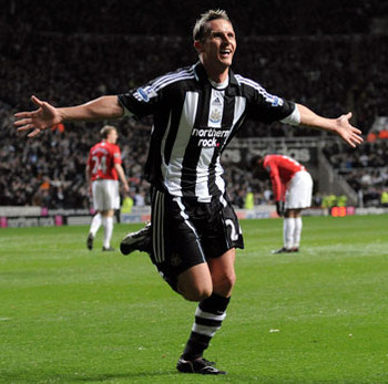 Peter Lovenkrands celebrates the prospect of more game time.