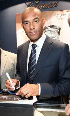 GREENWICH, CT - NOVEMBER 12:  Major League Baseball Players, Including New York Yankees Closer Mariano Rivera Make Appearance at Manfredi Jewels on November 12, 2010 in Greenwich, Connecticut.  (Photo by Donald Bowers/Getty Images for Manfredi Jewels)