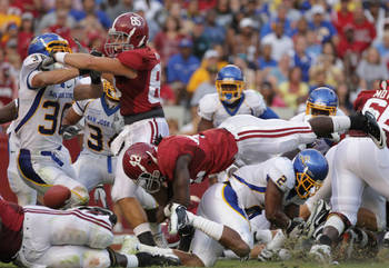 Bama playing chump San Jose State Univ.