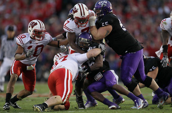 TCU knocking off Wisconsin