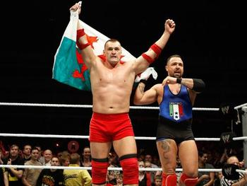 Did you realize that this is actually the Welsh flag?