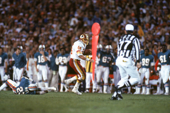 John Riggins brings it home