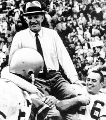 Dodd made southern football richer when GT was part of the SEC.