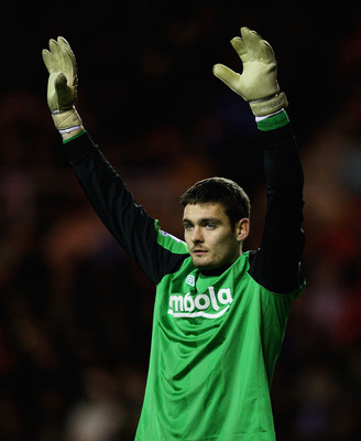 SUNDERLAND, ENGLAND - JANUARY 01:  Craig Gordon of Sundeland in action during the Barclays Premier League match between Sunderland and Blackburn Rovers at the Stadium of Light on January 1, 2011 in Sunderland, England.  (Photo by Matthew Lewis/Getty Image