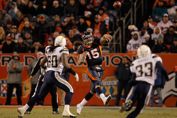 Tim Tebow showing he can get it done through the air