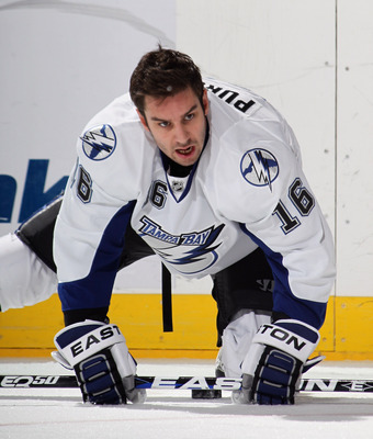 Teddy Purcell of the Tampa Bay Lightning