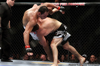 Bader taking down Little Nog