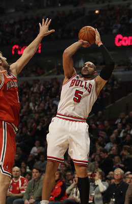 Carlos Boozer has added a new dimension to the Bulls this year