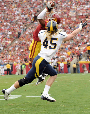 T. J. McDonald intercepting pass against Cal