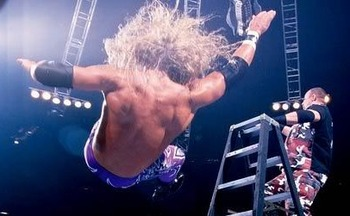 "Edge & Christian, the Dudley Boyz, and the Hardy Boyz wrestled in three historic ladder matches between 2000 and 2001. It was WrestleMania XVII's installment of ""Tables, Ladders, and Chairs"" that set the gold standard for them all."