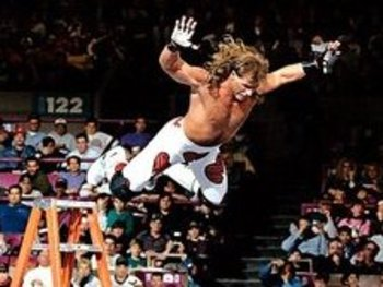 While Ladder Matches may seem fairly ordinary in 2011, it's only because Shawn Michaels and Razor Ramon practically invented the modern Ladder Match in 1994.