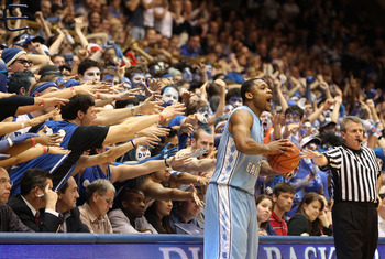 Carolina has a tough task winning at Cameron Indoor.