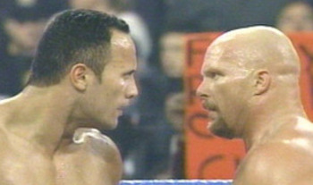 "When you're talking about wrestling's greatest stars, you don't have to look much further than Dwayne ""the Rock"" Johnson and ""Stone Cold"" Steve Austin."