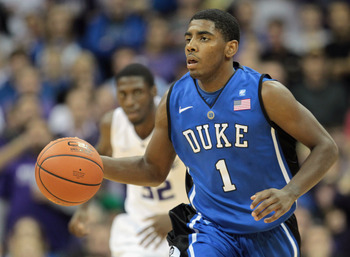 Irving's puts Duke over the top in chances of winning another National Championship.