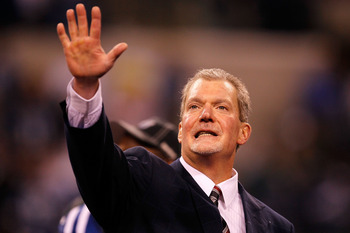 Jim Irsay owner of the Indianapolis Colts
