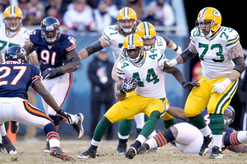 James Starks ability to run North and South has been a big asset to the Packers