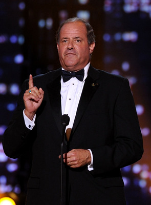LOS ANGELES, CA - JULY 14:  ESPN personality Chris Berman speaks onstage during the 2010 ESPY Awards at Nokia Theatre L.A. Live on July 14, 2010 in Los Angeles, California.  (Photo by Kevin Winter/Getty Images)