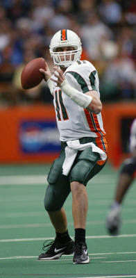 Ken Dorsey, Hurricane Great, NFL, not so much.