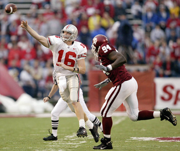 Craig Krenzal, was a true Buckeye hero but never made it in the NFL.