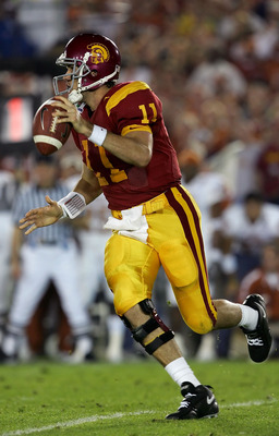 Matt Leinart, had it all at USC, a question mark in the NFL.