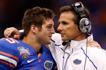 Tim Tebow, A Gator Phenom, and could be in the NFL.