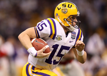 Matt Flynn, another Matt from LSU, and could be another Tom Brady) in the NFL