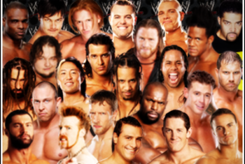 Members of the WWE Youth Movement