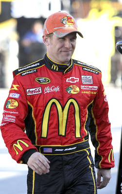 DAYTONA BEACH, FL - JANUARY 20:  Jamie McMurray, driver of the #1 Bass Pro Shops Chevrolet at Daytona International Speedway on January 20, 2011 in Daytona Beach, Florida.  (Photo by Jerry Markland/Getty Images for NASCAR)