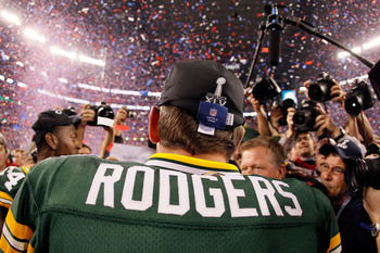Rodgers was the real story on Sunday night, finally jumping out of Brett Favre's shadow for good.