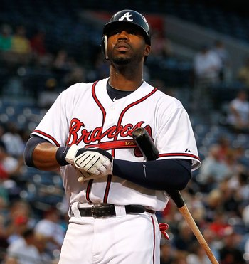 ATLANTA - AUGUST 31:  Jason Heyward #22 of the Atlanta Braves against the New York Mets at Turner Field on August 31, 2010 in Atlanta, Georgia.  (Photo by Kevin C. Cox/Getty Images)