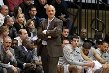 PHILADELPHIA, PA - DECEMBER 08:  Head coach Phil Martelli of the St. Joseph's Hawks against the Minnesota Golden Gophers at Michael J. Hagan Arena on December 8, 2010 in Philadelphia, Pennsylvania.  (Photo by Chris Chambers/Getty Images)