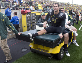 After Darron Thomas beat him for the job, Nate Costa became the leader of Oregon's special teams.