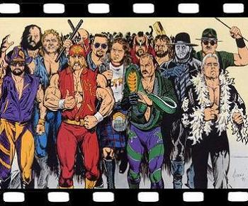 A Royal Rumble 1992 Promotional poster featuring the old guard and some newcomers.