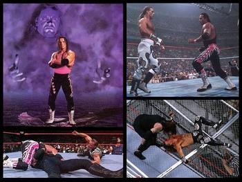 Bret Hart, The Undertaker and Shawn Michaels all met at one time or another in the second half of the '90s.
