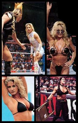 Bull Nakano vs. Alundra Blayze; Sable, Sunny and Chyna