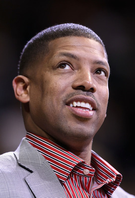 PHOENIX - DECEMBER 10:  Former NBA player Kevin Johnson attends the game between the Portland Trail Blazers and the Phoenix Suns at US Airways Center on December 10, 2010 in Phoenix, Arizona. NOTE TO USER: User expressly acknowledges and agrees that, by d