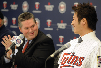 Tsuyoshi Nishioka is the newest Twin, taking over for Orlando Hudson.