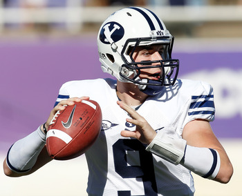 BYU QB Jake Heaps