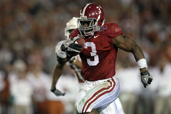 Alabama RB Trent Richardson