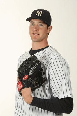 TAMPA, FL - FEBRUARY 19:  Andrew Brackman #64 of the New York Yankees poses during Photo Day on February 19, 2009 at Legends Field in Tampa, Florida. (Photo by Nick Laham/Getty Images)