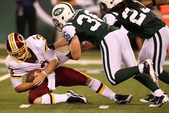 John Beck the Washington Redskins projected starting QB if McNabb leaves.