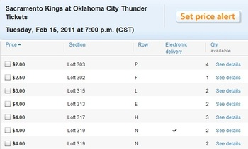 Durant and Westbrook are a good show at a great price.