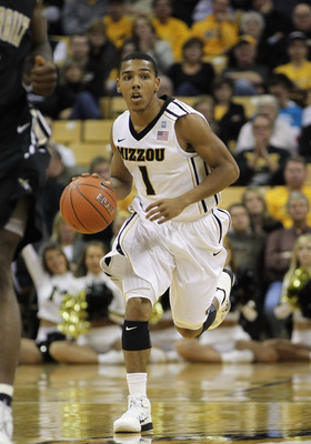 COLUMBIA, MO - DECEMBER 08:  Phil Pressey #1 of the Missouri Tigers in action during the game against the Vanderbilt Commodores on December 8, 2010 at Mizzou Arena in Columbia, Missouri.  (Photo by Jamie Squire/Getty Images)